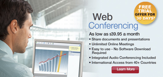 Sign Up for Web Conferencing
